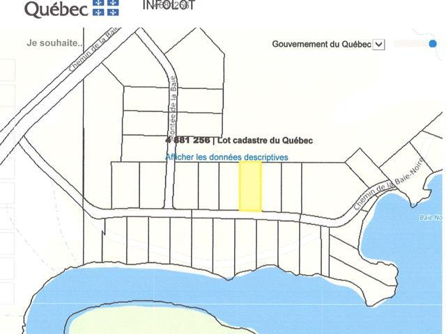 Lot for sale in Taschereau, Abitibi-Témiscamingue, Chemin de la Baie-Noire, 26414169 - Centris.ca