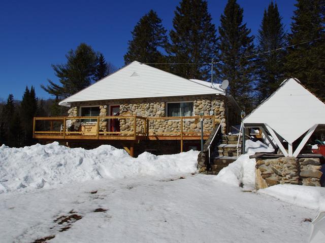 Cottage for sale in La Minerve, Laurentides, 61, Chemin  Poupart, 19893317 - Centris.ca