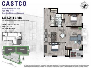 Condo / Appartement à louer à Saint-Jean-sur-Richelieu, Montérégie, 165, Rue  Bouthillier Nord, app. 301, 16852660 - Centris.ca