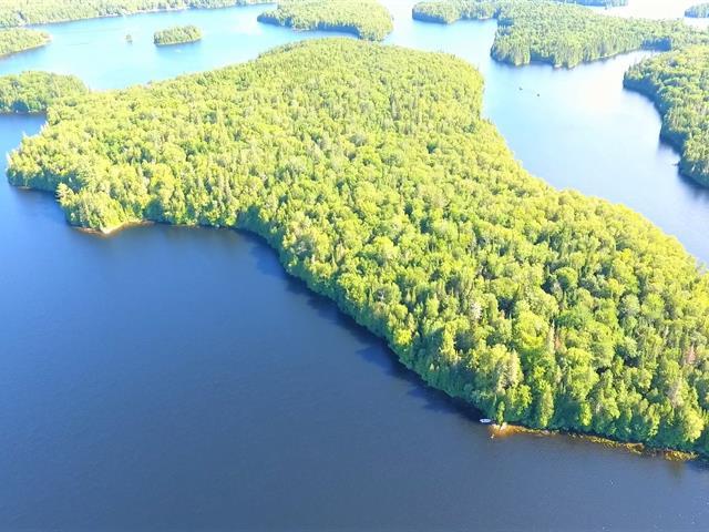 Terre à vendre à Nominingue, Laurentides, 1, Île du Lac-des-Grandes-Baies, 25614687 - Centris.ca