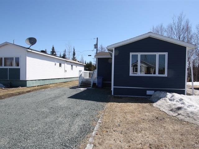 Maison mobile à vendre à Chibougamau, Nord-du-Québec, 2021, Rue  Larose, 22980190 - Centris.ca