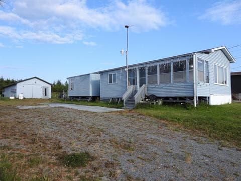 Mobile home for sale in Val-d'Or, Abitibi-Témiscamingue, 115, Rue du Parc, 16827487 - Centris.ca