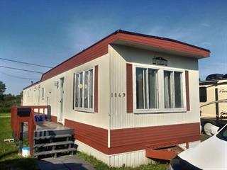 Maison mobile à vendre à Mont-Joli, Bas-Saint-Laurent, 1049, Rue  Lussier, 22649525 - Centris.ca