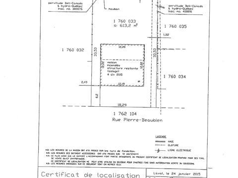 Terrain à vendre à Vimont (Laval), Laval, 2105, Rue  Pierre-Beaubien, 20321715 - Centris.ca