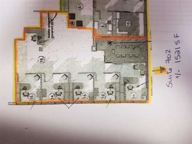 Commercial unit for rent in Kirkland, Montréal (Island), 3535, boulevard  Saint-Charles, suite 702, 28857686 - Centris.ca
