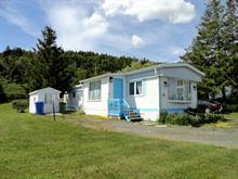 Mobile home for sale in Gaspé, Gaspésie/Îles-de-la-Madeleine, 4, Rue de l'Anse, 23484240 - Centris