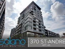 Condo / Appartement à louer à Ville-Marie (Montréal), Montréal (Île), 370, Rue  Saint-André, app. 411, 16117477 - Centris.ca