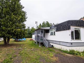 Mobile home for sale in Saint-Pascal, Bas-Saint-Laurent, 87, Rue des Chalets, 10149740 - Centris.ca
