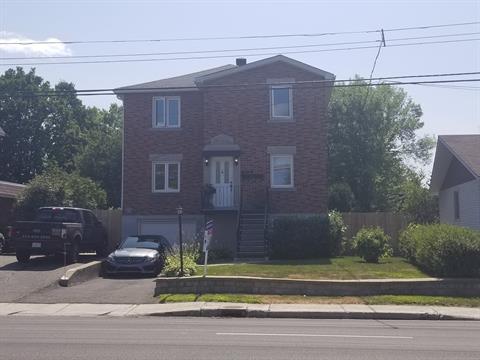 Duplex à vendre à Pierrefonds-Roxboro (Montréal), Montréal (Île), 10356, boulevard  Gouin Ouest, 28696510 - Centris.ca