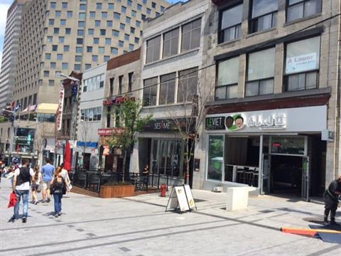 Commerce à vendre à Ville-Marie (Montréal), Montréal (Île), 292, Rue  Sainte-Catherine Ouest, 26484060 - Centris.ca
