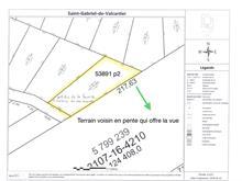 Terrain à vendre à Saint-Gabriel-de-Valcartier, Capitale-Nationale, 19, Rue de la Falaise, 20555398 - Centris.ca