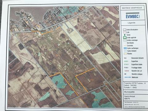 Terre à vendre à Saint-Anicet, Montérégie, 687, Route  132, 24627704 - Centris.ca