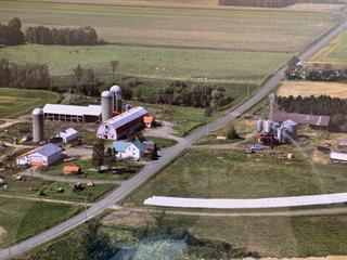 Ferme à vendre à Saint-Zéphirin-de-Courval, Centre-du-Québec, 100, Rang  Saint-François, 21278647 - Centris.ca
