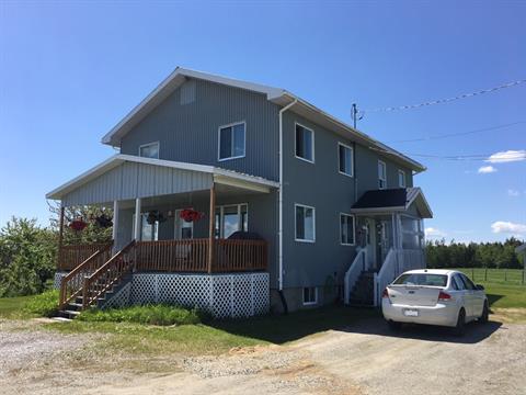 Duplex à vendre à Audet, Estrie, 139Y - 139Z, Route  204, 27398338 - Centris.ca