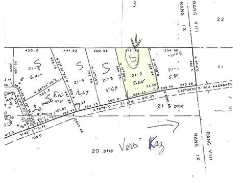 Lot for sale in Kazabazua, Outaouais, Route  301, 28059081 - Centris.ca