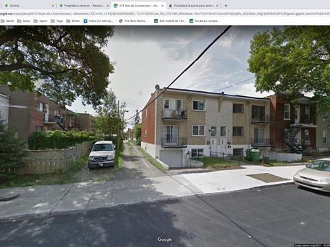 Duplex à vendre à Mercier/Hochelaga-Maisonneuve (Montréal), Montréal (Île), 512 - 514, Rue  De Contrecoeur, 20215919 - Centris