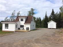 Chalet à vendre à Cap-Chat, Gaspésie/Îles-de-la-Madeleine, 10, Route  Eaton, 15940800 - Centris.ca