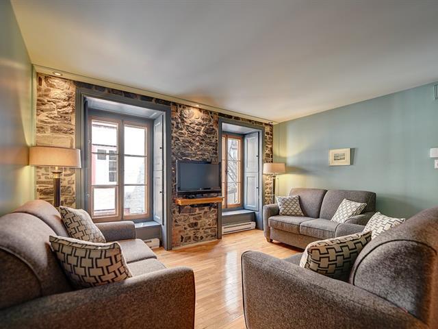 Condo / Appartement à louer à Québec (La Cité-Limoilou), Capitale-Nationale, 53, Rue du Sault-au-Matelot, app. 1, 23952833 - Centris.ca