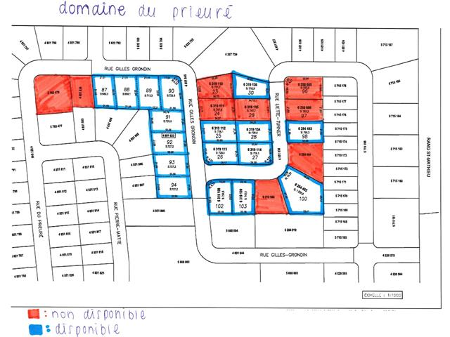 Lot for sale in Shawinigan, Mauricie, Rue  Gilles-Grondin, 15899616 - Centris.ca