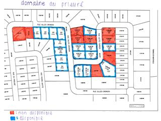 Lot for sale in Shawinigan, Mauricie, Rue  Gilles-Grondin, 20721832 - Centris.ca