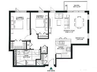 Condo / Apartment for rent in Laval (Pont-Viau), Laval, 222, boulevard  Lévesque Est, apt. 401, 28532334 - Centris.ca