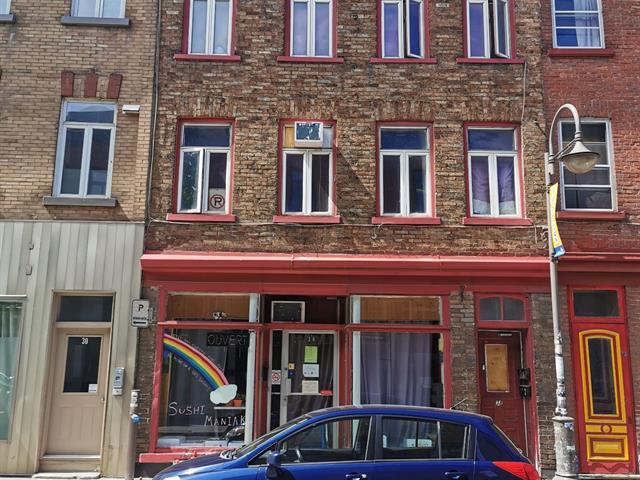 Duplex à vendre à Québec (La Cité-Limoilou), Capitale-Nationale, 34 - 38, Rue  Saint-Joseph Est, 14957115 - Centris.ca