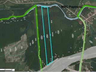 Terre à vendre à Papineauville, Outaouais, Chemin  Côte-des-Cascades, 20324616 - Centris.ca
