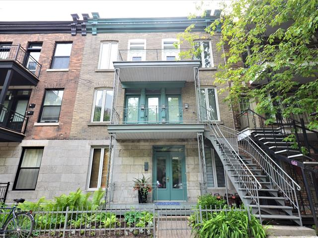 Quintuplex à vendre à Montréal (Le Plateau-Mont-Royal), Montréal (Île), 4260 - 4266, Rue  Parthenais, 19269536 - Centris.ca