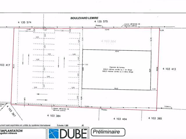Bâtisse commerciale à louer à Drummondville, Centre-du-Québec, 1515, boulevard  Lemire, 24430777 - Centris.ca