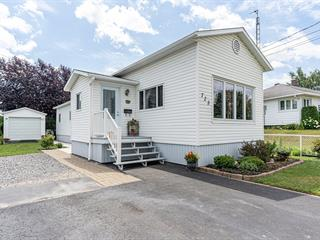 Maison mobile à vendre à Saint-Hyacinthe, Montérégie, 725, Rue des Seigneurs Est, 22161523 - Centris.ca