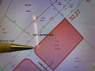 Lot for sale in Val-des-Lacs, Laurentides, Chemin  Desjardins, 23396668 - Centris.ca