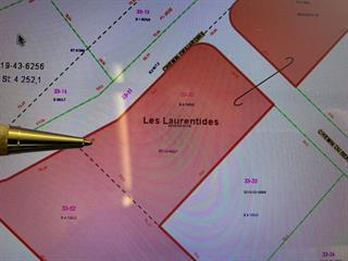 Lot for sale in Val-des-Lacs, Laurentides, Chemin  Desjardins, 10056028 - Centris.ca