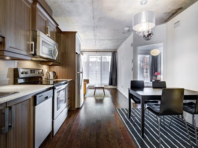 Condo / Apartment for rent in Montréal (Ville-Marie), Montréal (Island), 1205, Rue  MacKay, apt. 216, 24240334 - Centris.ca
