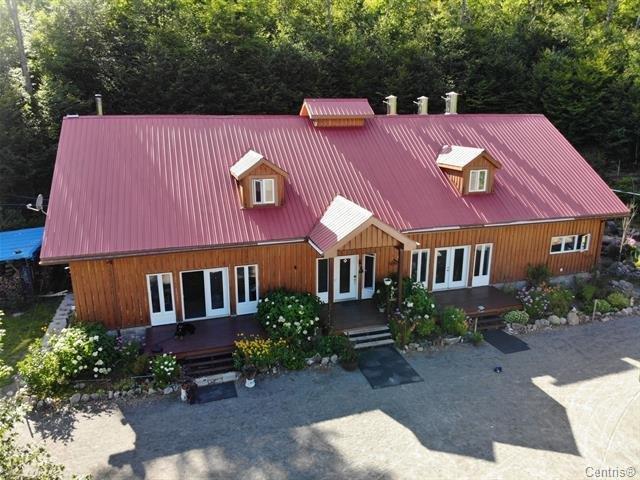Fermette à vendre à Lac-Tremblant-Nord, Laurentides, 1401Z, Chemin  Thomas-Robert, 21306472 - Centris.ca