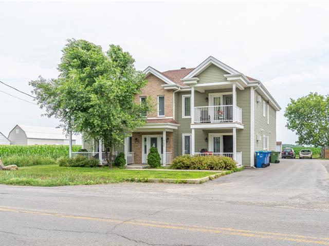 Quadruplex à vendre à Saint-Isidore (Montérégie), Montérégie, 735A - 735D, Rang  Saint-Régis, 17576275 - Centris.ca