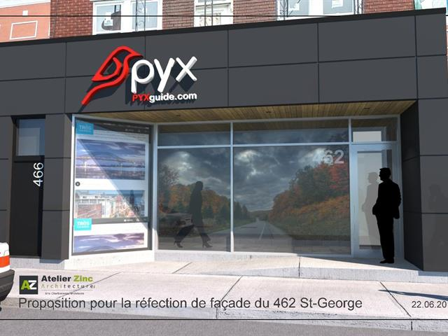 Commercial unit for rent in Trois-Rivières, Mauricie, 462 - 466, Rue  Saint-Georges, 12662745 - Centris.ca