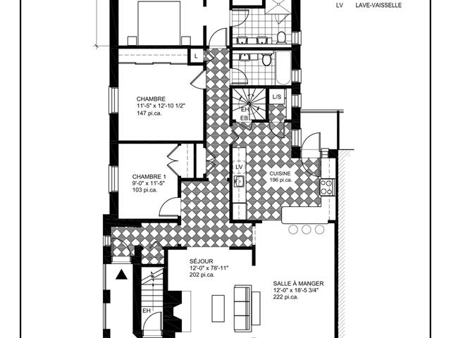 Condo / Apartment for rent in Montréal (Côte-des-Neiges/Notre-Dame-de-Grâce), Montréal (Island), 5639, Avenue de Canterbury, 24936063 - Centris.ca