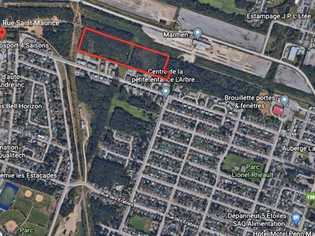 Terrain à vendre à Trois-Rivières, Mauricie, Rue  Saint-Maurice, 19724665 - Centris.ca