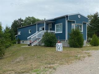 Maison mobile à vendre à Chambord, Saguenay/Lac-Saint-Jean, 143, Rang  Desmeules, 19299314 - Centris.ca