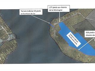 Terrain à vendre à Lac-Sergent, Capitale-Nationale, Chemin de la Montagne, 20572288 - Centris.ca