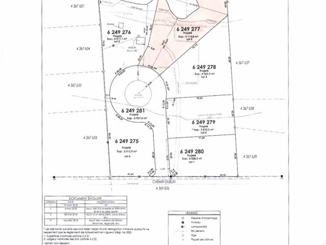 Lot for sale in Shannon, Capitale-Nationale, Rue  Gagné, 18869788 - Centris.ca