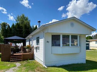 Maison mobile à vendre à Saguenay (Chicoutimi), Saguenay/Lac-Saint-Jean, 87, Place des Copains, 13353781 - Centris.ca