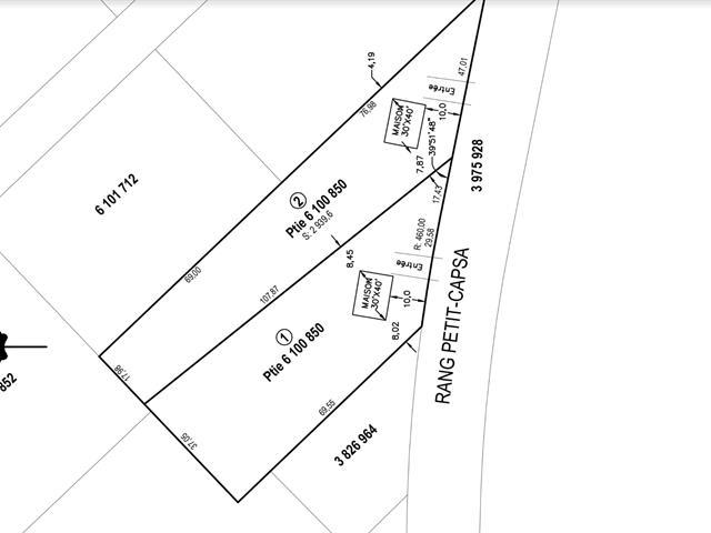 Lot for sale in Pont-Rouge, Capitale-Nationale, Rang  Petit-Capsa, 25480919 - Centris.ca
