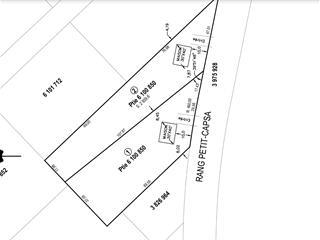 Lot for sale in Pont-Rouge, Capitale-Nationale, Rang  Petit-Capsa, 24352306 - Centris.ca