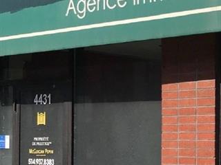 Commercial unit for rent in Westmount, Montréal (Island), 4431, Rue  Sainte-Catherine Ouest, 12906304 - Centris.ca