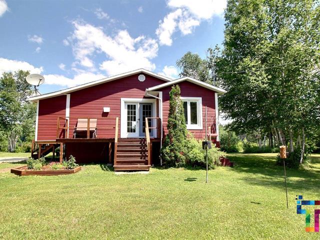 Chalet à vendre à Albanel, Saguenay/Lac-Saint-Jean, 110, Chemin de l'Écluse, 17147219 - Centris.ca