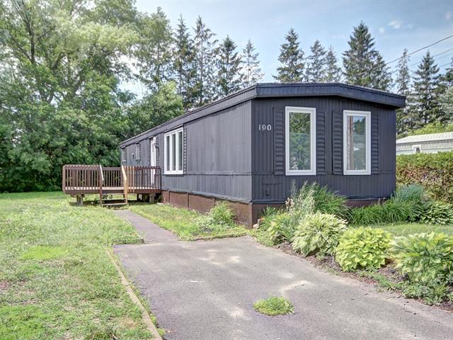 Maison mobile à vendre à Donnacona, Capitale-Nationale, 190, Avenue  Marcoux, 23046507 - Centris.ca