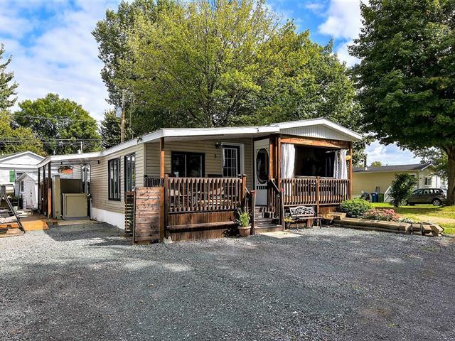 Mobile home for sale in Nicolet, Centre-du-Québec, 3, Rue des Chênes, 15969604 - Centris.ca