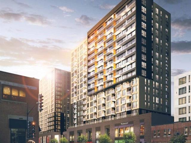 Condo / Apartment for rent in Montréal (Le Sud-Ouest), Montréal (Island), 195, Rue  Peel, apt. 910, 22197263 - Centris.ca