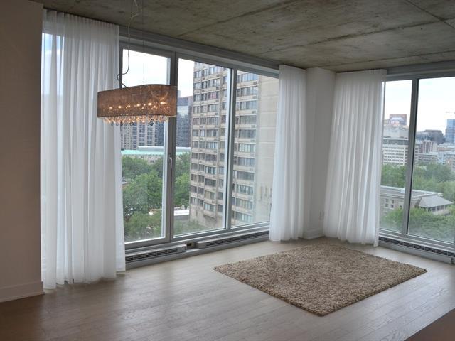 Condo / Apartment for rent in Montréal (Ville-Marie), Montréal (Island), 1800, boulevard  René-Lévesque Ouest, apt. 1203, 16954541 - Centris.ca